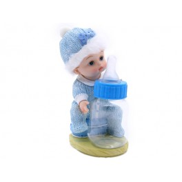 Bébé biberon Garçon