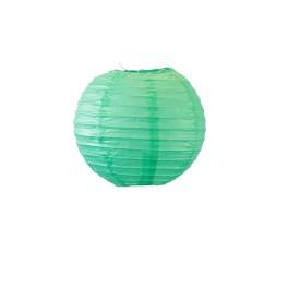 Lampion boule 40 cm Vert d'eau