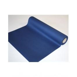 Chemin de table Voie sèche Bleu Marine