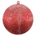 Boule Pailletée Rouge