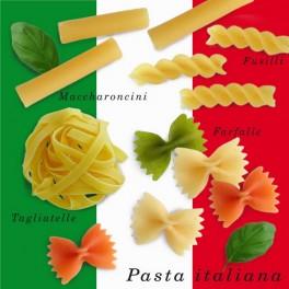 Serviette de table bella italia