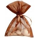 Sachet à dragées Chocolat