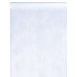 10 m Intissé Uni Blanc