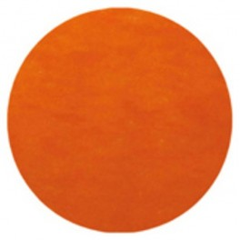 Set de table rond Orange