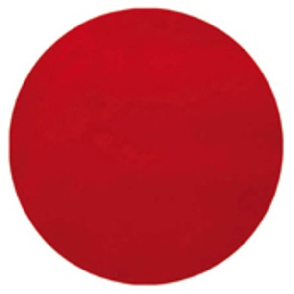 Set de table rond rouge for Set de table rouge rond