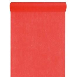 10 m Intissé Uni Rouge
