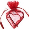 Coeur amuré Rouge