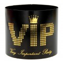 Rond de serviette VIP Noir