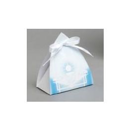 Ballotin vitrail Turquoise