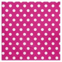 Serviette de table pois Fuchsia