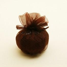 Sac forme boule Chocolat