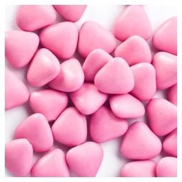 Mini coeur Chocolat Rose