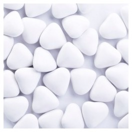 Mini coeur Chocolat Blanc