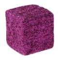 Cube pailleté Fuchsia