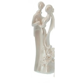 Statue couple moderne C