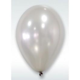 Ballon nacre Argent