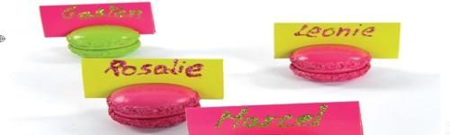 Marque-places / Crayons
