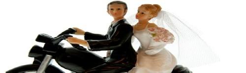 Statuettes des mariés